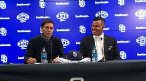 Manny Machado introduced at press conference [Video]