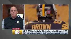 Pittsburgh Steelers general manager Kevin Colbert: 'Three teams have reached out' about potential wide receiver Antonio Brown tr [Video]