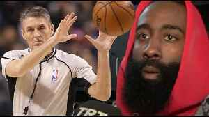 "James Harden SLAMS ""Rude & Arrogant"" Ref Scott Foster! ""Shouldn't Be Able To Officiate Our Games' [Video]"