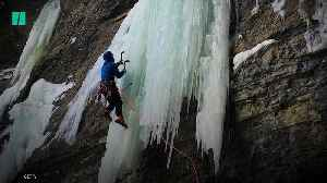 Ice Climbing Hitting Its Peak [Video]