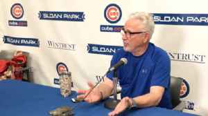 Cubs manager on Joe Maddon on Tyler Chatwood's improvement [Video]