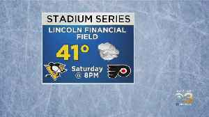 NHL Monitoring Rain That Could Affect Flyers' Outdoor Game [Video]