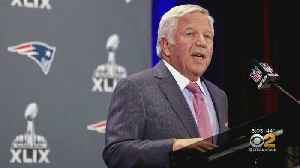 News video: Robert Kraft Charged With Soliciting A Prostitute