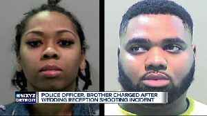 DPD officer, brother charged after wedding reception shooting [Video]