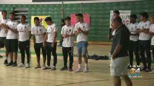 Students Rally For Varela Vipers Soccer Team [Video]