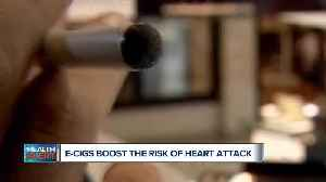 Ask Dr. Nandi: How can E-cigarettes boost the risk of heart attack? [Video]