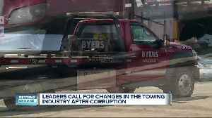 Towing leaders call for changes in the industry after corruption [Video]
