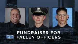 Fundraising for MPD fallen officers. [Video]