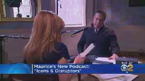 Maurice DuBois Introduces New Podcast [Video]
