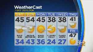 New York Weather: CBS2 2/22 Evening Forecast at 5PM [Video]