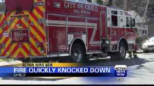 Firefighters quickly knock down Chico duplex fire [Video]