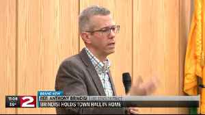 Rep. Anthony Brindisi holds town hall in Rome [Video]