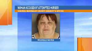 woman accused of attempted murder [Video]