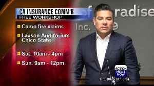 Insurance commissioner to host free workshop for Camp Fire victims [Video]