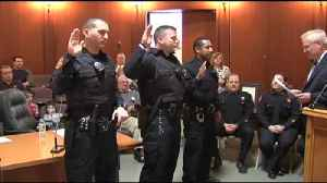 VIDEO Bethlehem swears in, promotes police officers in ceremony [Video]