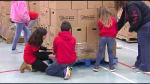 VIDEO Parkland SD donates nearly 20k pounds of food to Second Harvest [Video]