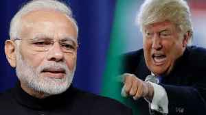 News video: Pulwama Colen : Donald Trump says , India is Looking at Something Very Strong | Oneindia News