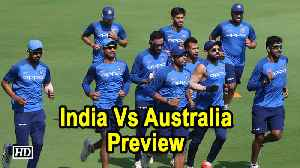 India Vs Australia | India look to plug holes before World Cup in T20 series - Preview [Video]