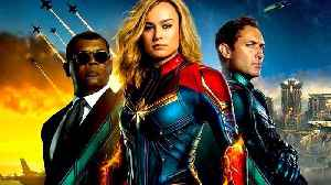 Captain Marvel with Brie Larson - Intergalactic War Featurette [Video]