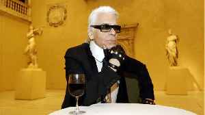 Celebrity Tributes to Karl Lagerfeld [Video]