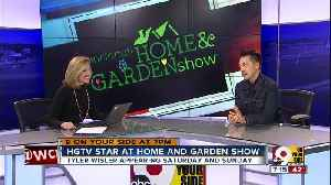 Kristyn wrangles decorating tips out of HGTV star Tyler Wisler [Video]