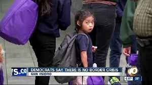 Democrats say there is no border crisis in tour [Video]