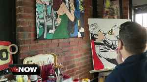 Buffalo Pop artist shares his happiness with his attention grabbing work [Video]