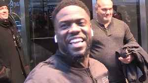 "Kevin Hart Says the Chances Are ""Slim"" He'll Host the Oscars, But Maybe in the Future [Video]"