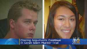 Closing Arguments Heard In Sarah Stern Trial [Video]
