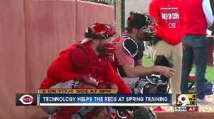 Technology helps the Reds at Spring Training [Video]