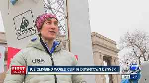The Ice Climbing World Cup Finals & Barbegazi Winter Festival is coming to Denver this weekend [Video]