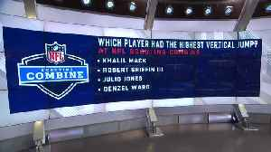 Test your NFL combine knowledge with these five trivia questions [Video]