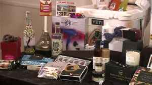 From exotic vacations to toilet plungers: a look inside celebrity gift bags [Video]
