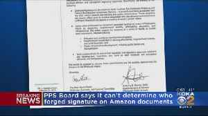 PPS Board Says It Can't Determine Who Forged Signature On Amazon Documents [Video]