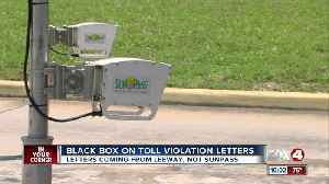 Black Box on Toll Violation Letters [Video]
