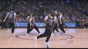 Warriors Break Dancers Show Off Olympic-Class Moves at Oracle Arena [Video]