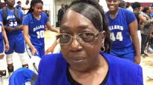Legendary Dillard girls basketball coach Marcia Pinder after Panthers get back to Lakeland [Video]
