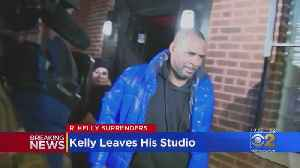 R. Kelly Leaves His Studio [Video]