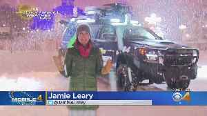 Mobile Weather Lab Tracks Snow From Ice Climbing Championship [Video]