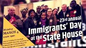 Centro In Spanish: 23rd Annual Immigrants' Day @ MA State House [Video]