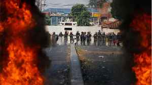 Venezuelan Troops Clash With Protestors On Colombia Border [Video]