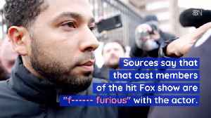News video: Empire Cast Members Are Very Angry With Jussie Smollett