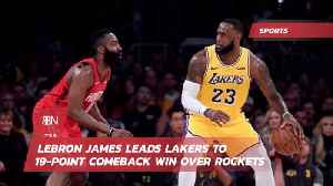 Lebron Claims 'Intensity Activated' With Big Comeback Win [Video]