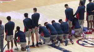 Several Ole Miss Players Kneel During National Anthem vs. Georgia [Video]