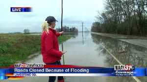 Roads Closed Because of Flooding [Video]