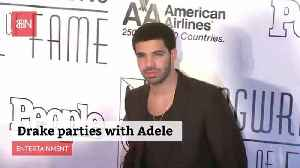 Drake And Adele Hanging Out In LA [Video]