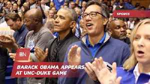 Barack Obama Is There For College Basketball Injury [Video]