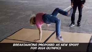 Should Break Dancing Be An Olympic Sport [Video]