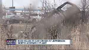 1 man killed in car crash at Jefferson North Assembly Plant [Video]