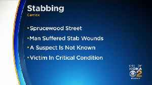 Police Investigating Stabbing In Carrick, Victim In Critical Condition [Video]